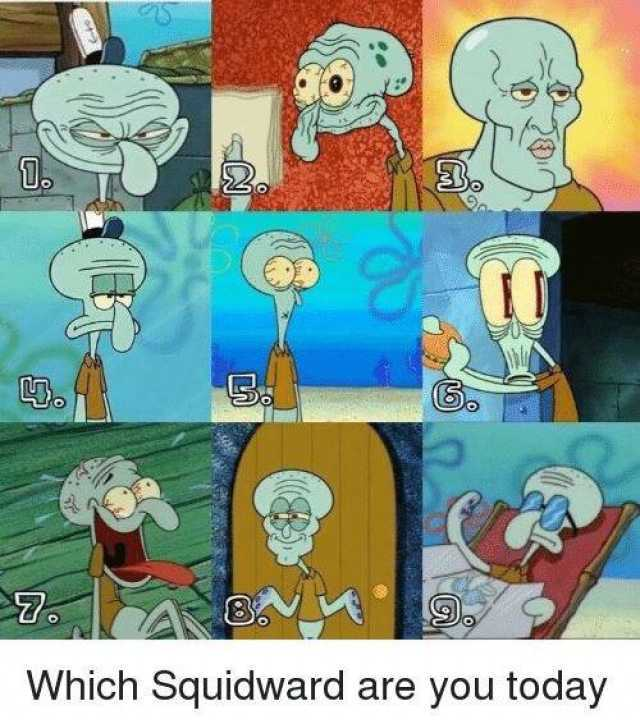squidward meme